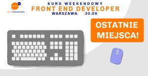 Kurs Front End Developer