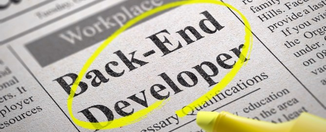 Back End Developer